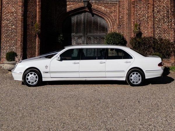 Mercedes wedding car suffolk