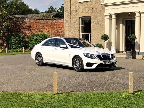 S63 AMG wedding cars The Fennes, Essex