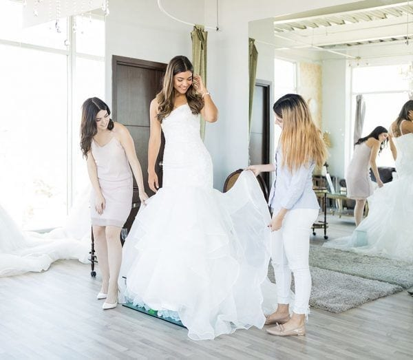 Yes to the dress in Essex, wedding dress shopping