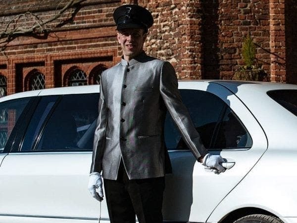 Wedding chauffeur hire in Suffolk