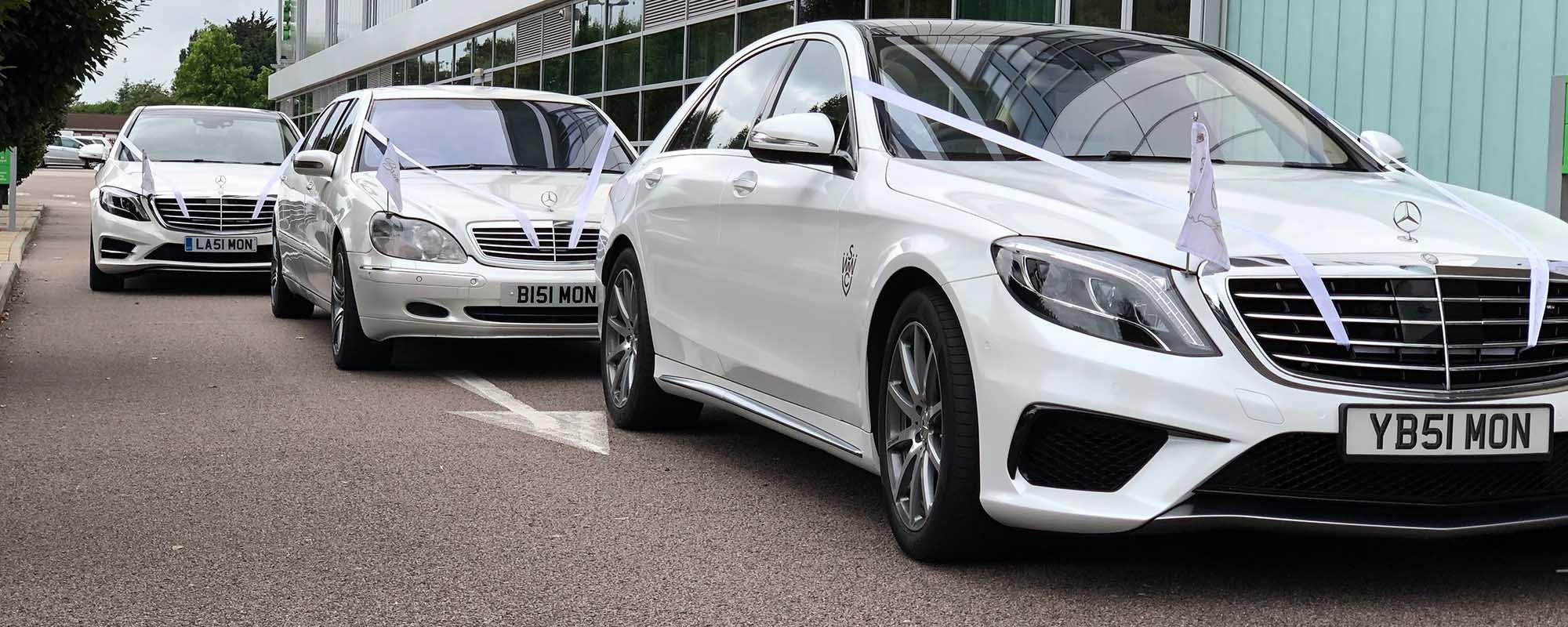 Luxury wedding car services, Wedding car hire? or Wedding car service?, Simons White Wedding Cars
