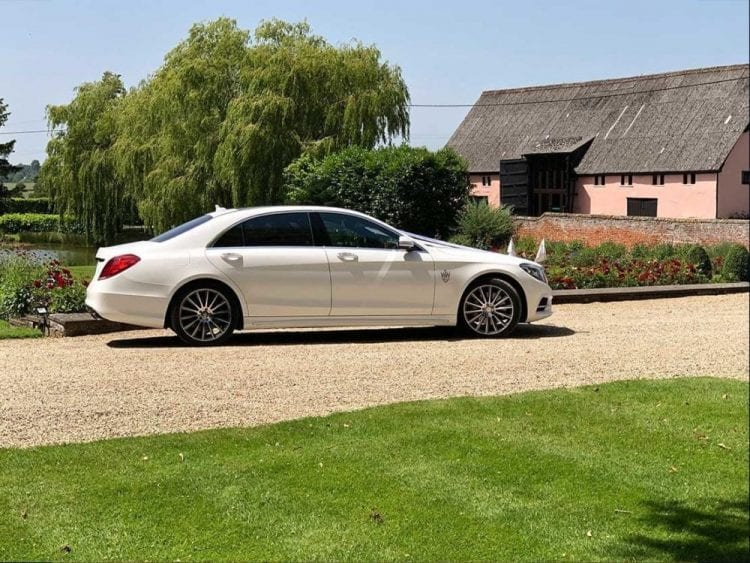 Wedding car hire in Essex