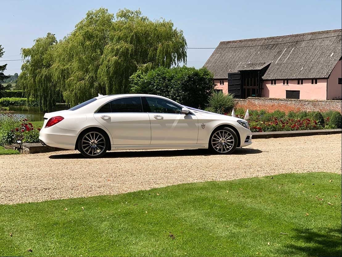wedding venue, Our Wedding Car Hire in Essex, Simons White Wedding Cars