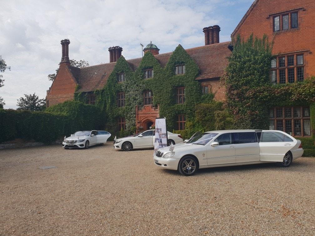 Luxury Wedding car hire in Suffolk