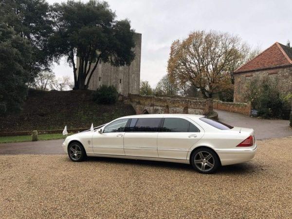 Mercedes Wedding car. 6 seater Pullman