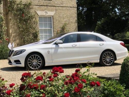 Wedding car in London
