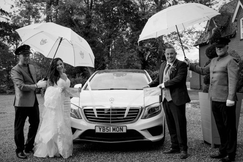 Best chauffeur driven wedding cars hire