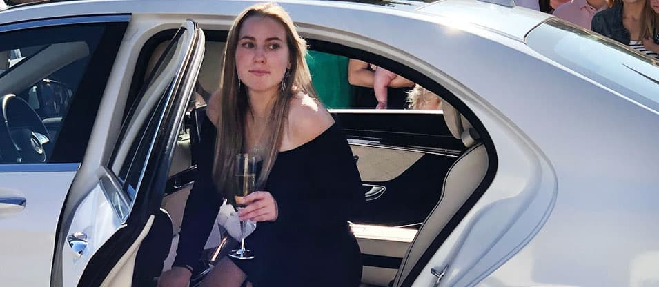 Luxury honeymoon transport