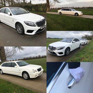 Basildon Wedding car hire fleet