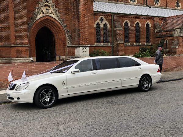 Mercedes Pullman in London