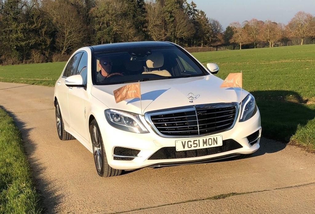 Wedding car in Lowestoft Suffolk