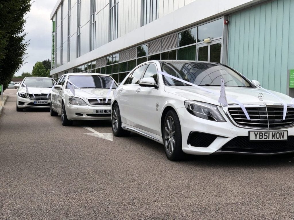 Luxury wedding cars Harlow