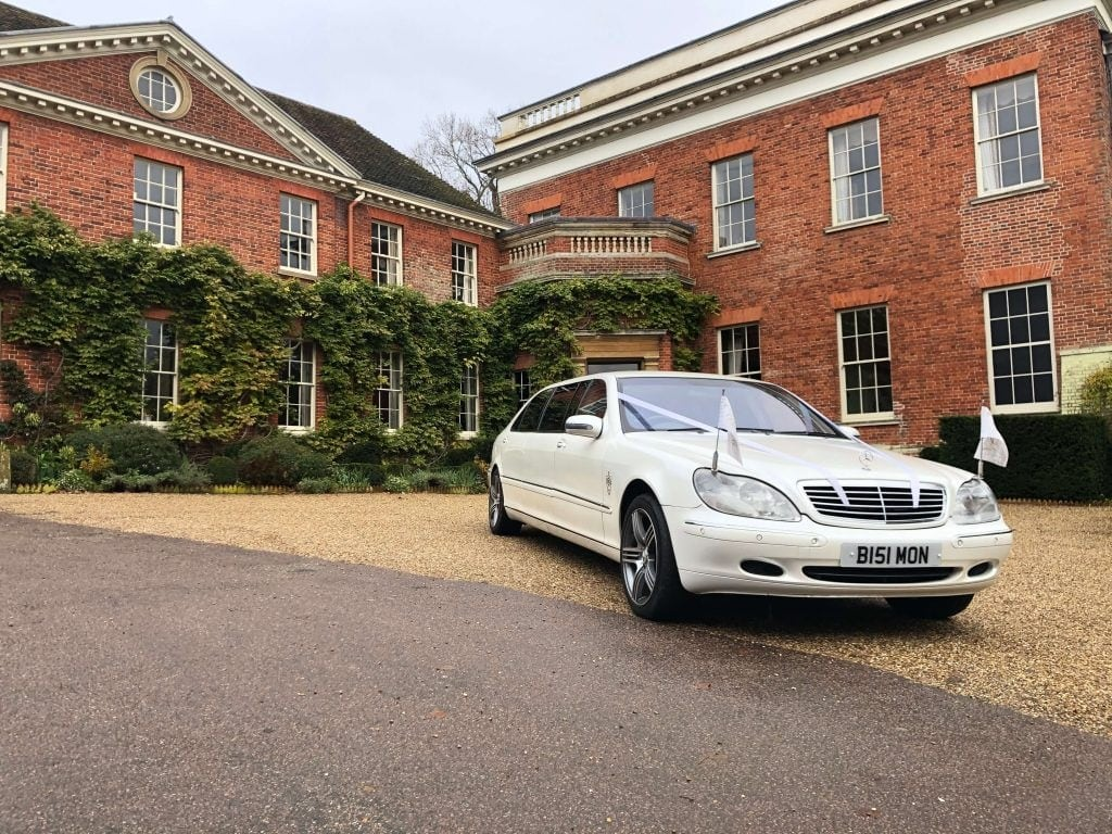 Mercedes Pullman wedding car hire
