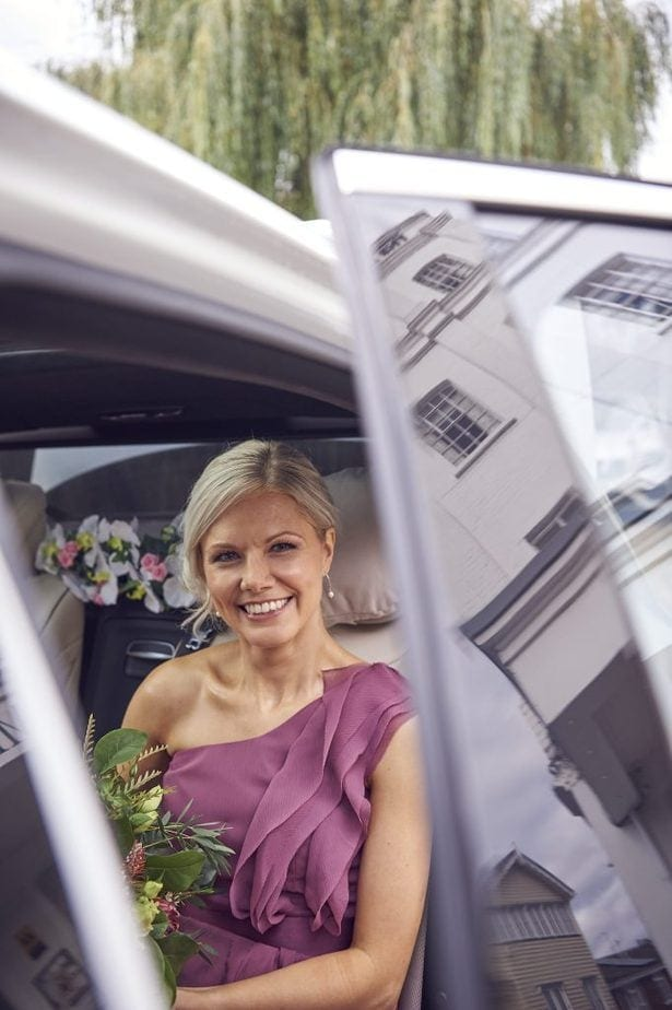 Bridesmaids wedding day