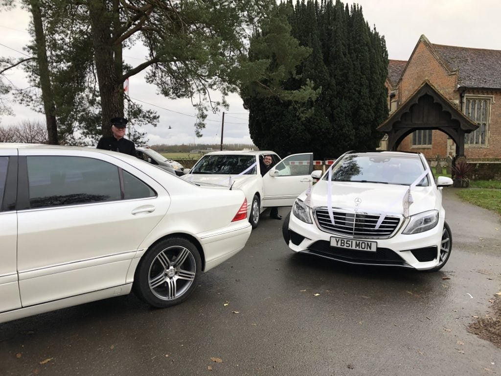 Hertfordshire wedding car hire