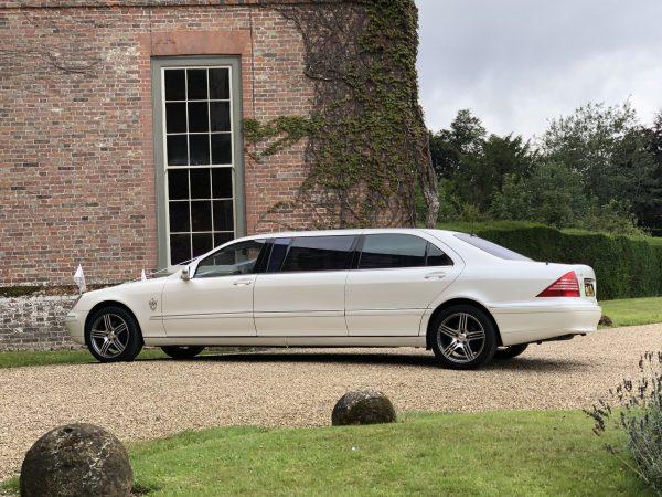 Mercedes Pullman wedding car