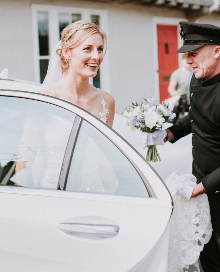 Luxury chauffeur driven wedding cars