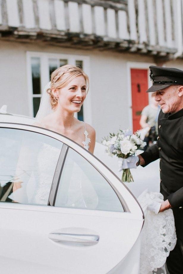 Hertfordshire chauffeured wedding car
