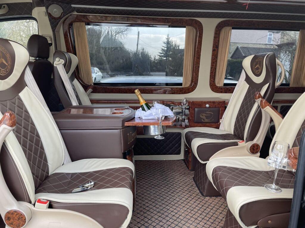 VIP minibus hire