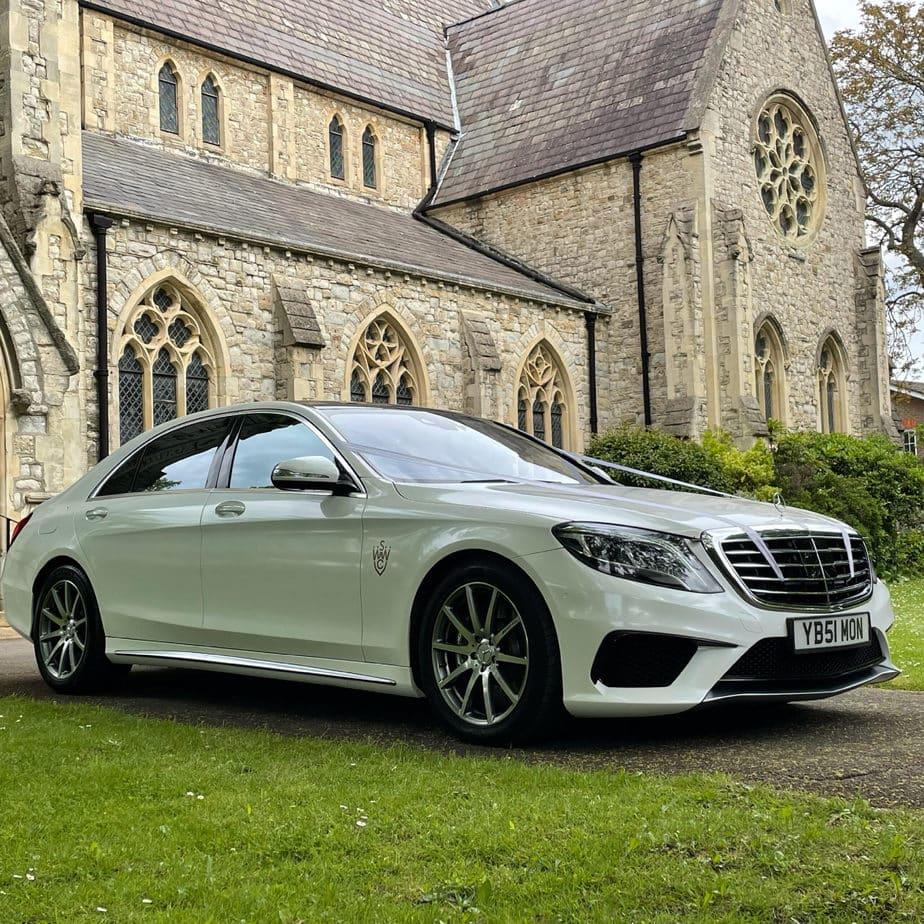 Mercedes wedding car hire