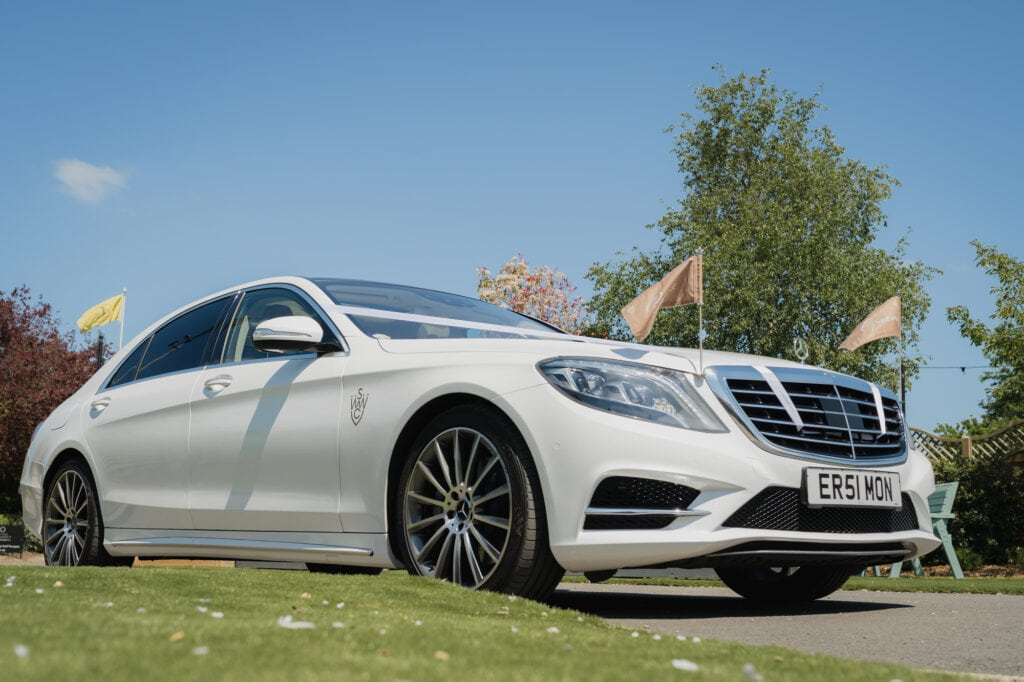 Mercedes wedding day