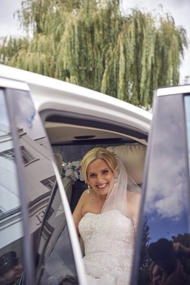 Included in the cost of a wedding car hire