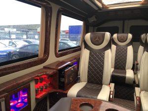 VIP minibus for hire