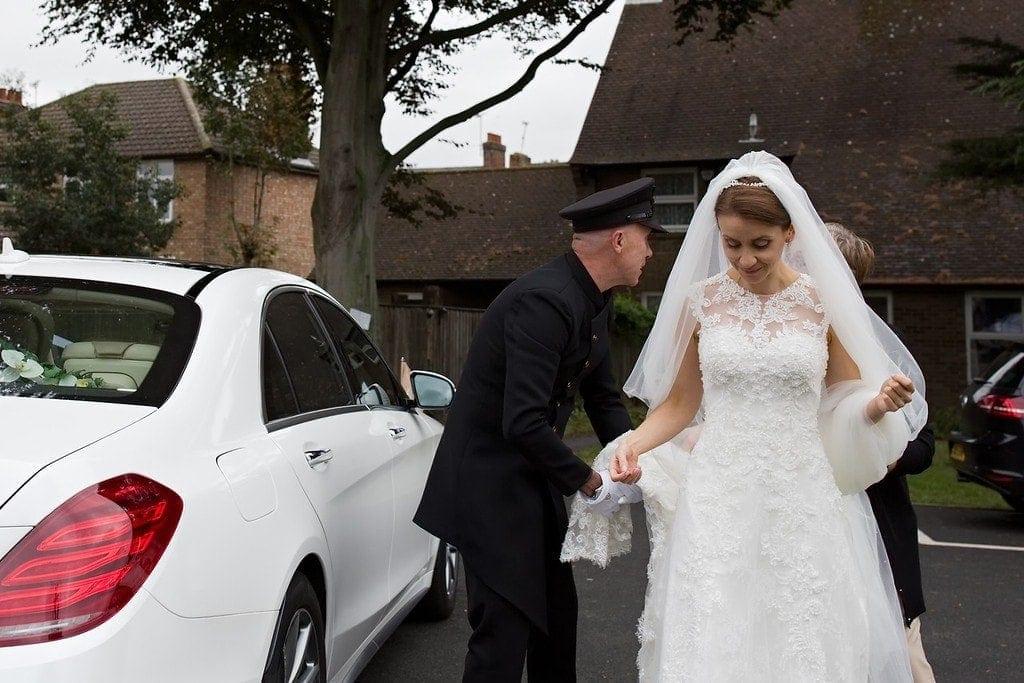 Wedding chauffeur service